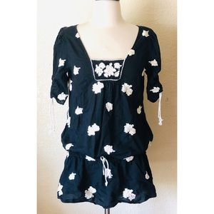 Juicy Couture Tunic Blouse Embroidered 6